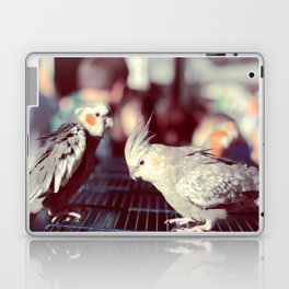 Parisian Budgies Laptop & iPad Skin