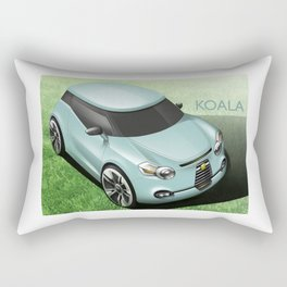 KOALA CAR Rectangular Pillow