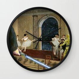 Hall of the Jedi Council: Episode III meets Edgar Degas Wall Clock