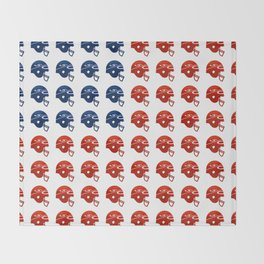 American Football Flag Throw Blanket