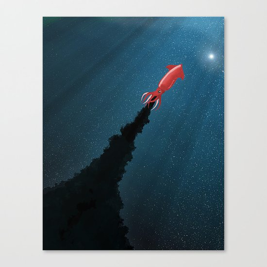 Octonaut Canvas Print