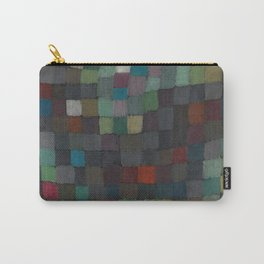 May Picture Abstract Squares Carry-All Pouch