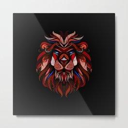 LION |||II||| Metal Print