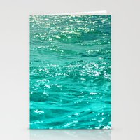 dave grohl Stationery Cards featuring SIMPLY SEA by Catspaws