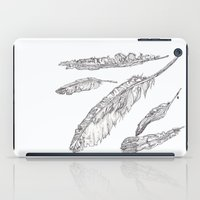 swedish iPad Cases featuring Swedish Feathers by M.GrondinArt