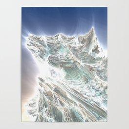 Mega Dragon's Peaks Poster