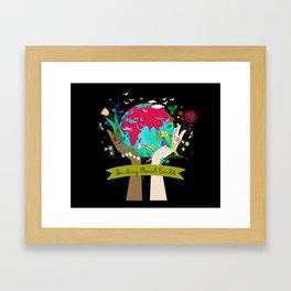 Darling Planet Earth Framed Art Print