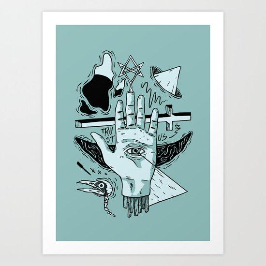 TRUSTUS Art Print