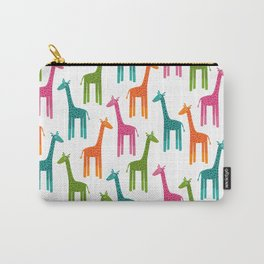Giraffes-Multicolor Carry-All Pouch