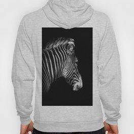 White Stripes Black Stripes Hoody