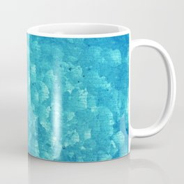 Blue grunge rusty metal Coffee Mug