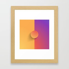 Gram of Insta Framed Art Print