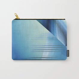 Blue abstract 2016 Carry-All Pouch
