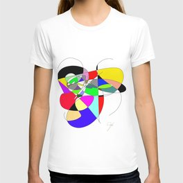 Repetition of the colour T-shirt