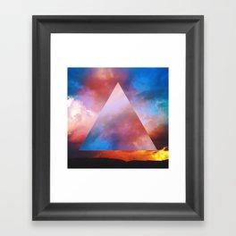 Burning Sky Framed Art Print