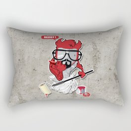 "BENNY THE ""DEVIL"" KID Rectangular Pillow"