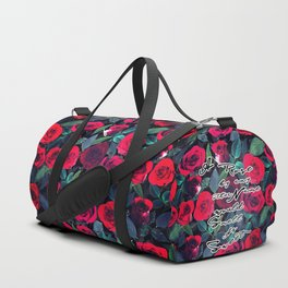 A Rose by any other Name Duffle Bag