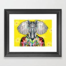 ELEPHAS Framed Art Print