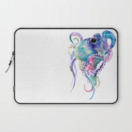 Tuquoise BLue Pink Purple Octopus Laptop Sleeve