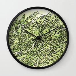 most gushrooms Wall Clock