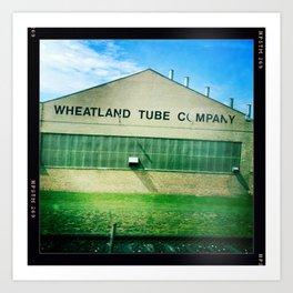 Wheatland Tube Company Art Print