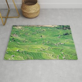 Yuanyang Rice Terraces - China Rug