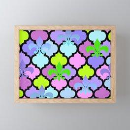 Moroccan and FDL Framed Mini Art Print
