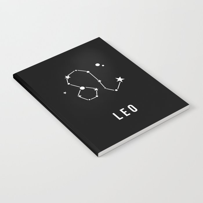 Leo Zodiac Sign Quote Notebook By Thedailyquotes Society6