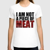 meat T-shirts featuring MEAT by Nathan