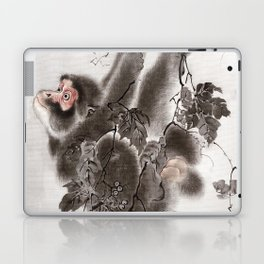 Monkey Hanging from Grapevines Laptop & iPad Skin