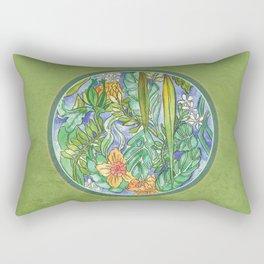 Pira Floral Rectangular Pillow