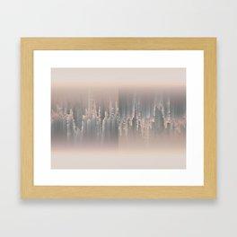 Reversible Space A+B Framed Art Print