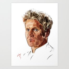 Mr Ramsay Art Print