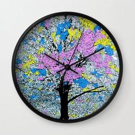 TREE SO PRETTY Wall Clock
