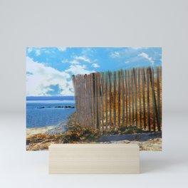 A Day At The Beach Mini Art Print