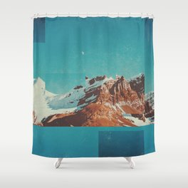 Fractions A39 Shower Curtain