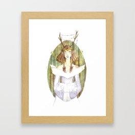 Queen of the Northern Forests Framed Art Print