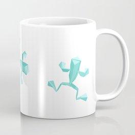 Origami Frog Coffee Mug