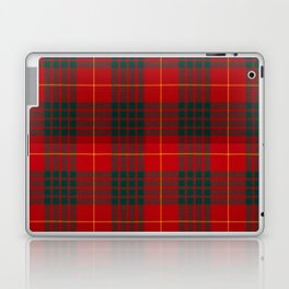 CAMERON CLAN SCOTTISH KILT TARTAN DESIGN Laptop & iPad Skin
