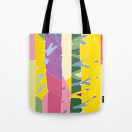 The abstract of joy Tote Bag