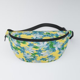 Summer Flowers Yellow Fanny Pack