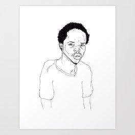 Earl Sweatshirt Art Print