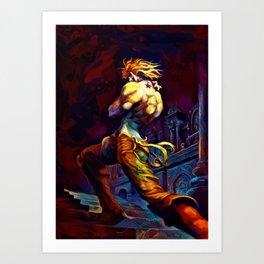 Colorful brando Art Print
