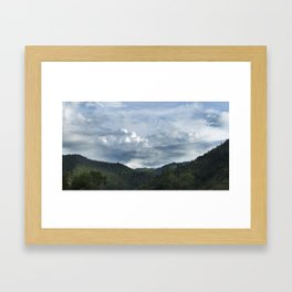 Princess Mononoke Landscape Framed Art Print