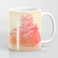 coral Mugs featuring Coral by Stacia Elizabeth