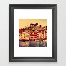 Buongiorno Portofino! Framed Art Print
