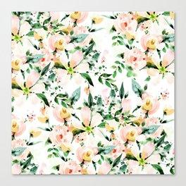 Flowered Canvas Print