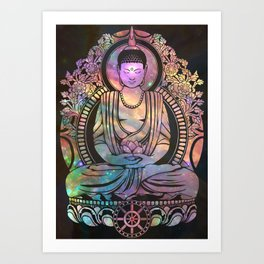 Cosmic Bodhi Art Print