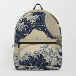 Under the Wave off Kanagawa, 1830/33 Backpack