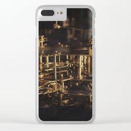 Time machine #2 Clear iPhone Case
